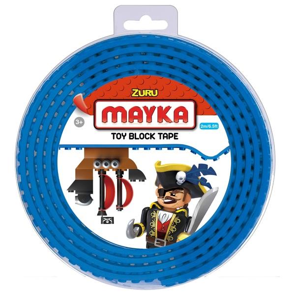 Mayka Toy Block Building Tape Large (4 Stud 2 Metre) – Blue