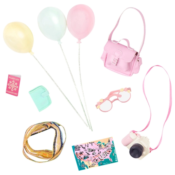 Glitter Girls Travelling Adventures Accessory Set