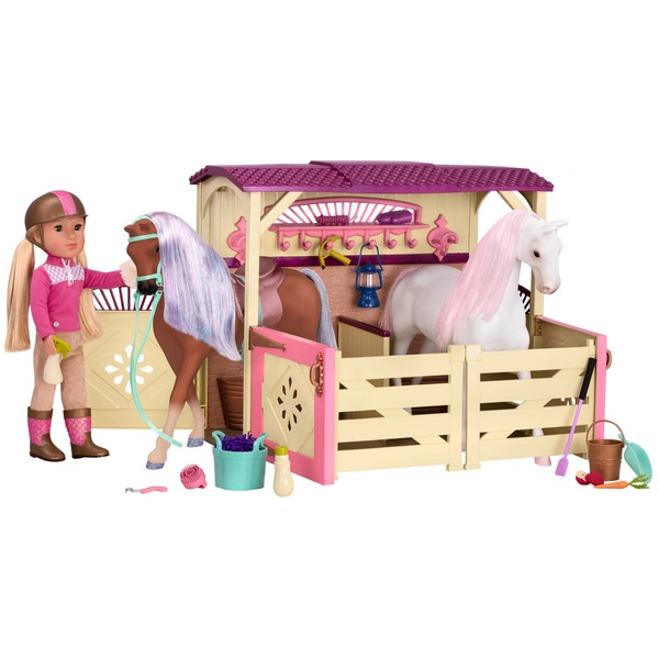 Glitter Girls Horse Stable and Accessories Set