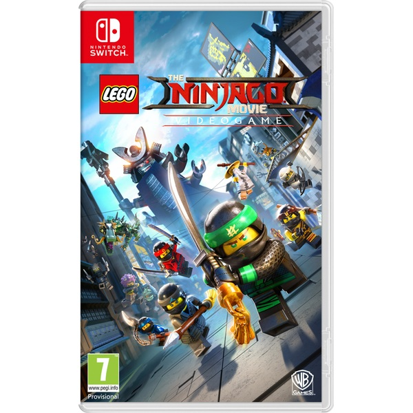 The LEGO Ninjago Movie Video Game Switch