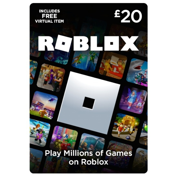 Roblox Card - 30 Credits - £20 - Gaming Gift Cards UK