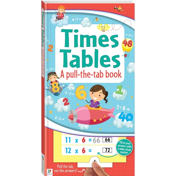 Times Table a Pull-the-Tab HB Book