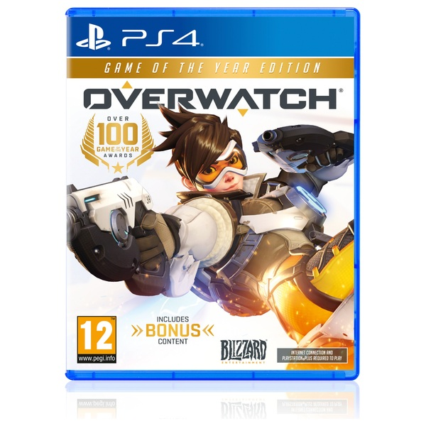 4 Games That Comes With Ps4 : Overwatch game of the year edition ps playstation