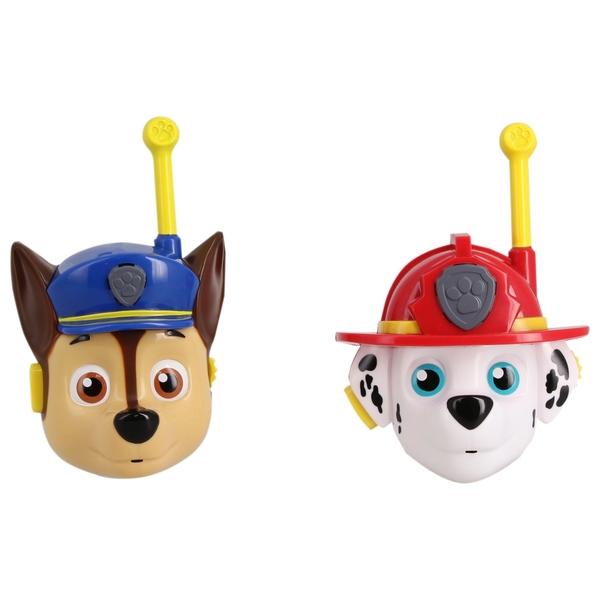 PAW Patrol 3D Character Walkie Talkies