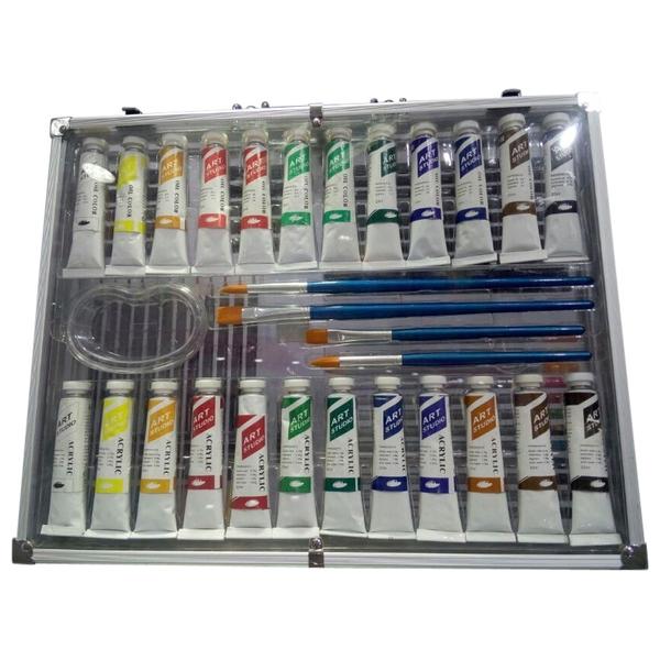 76pcs Acrylic Art Case Set