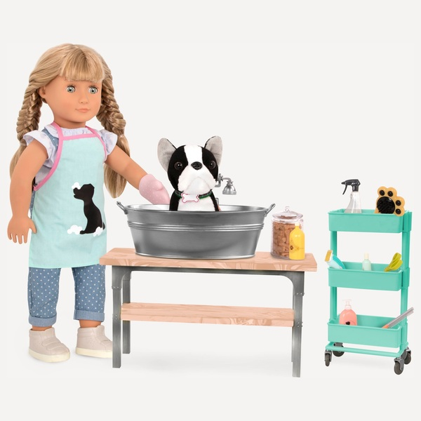 Our Generation Pet Grooming Salon Set