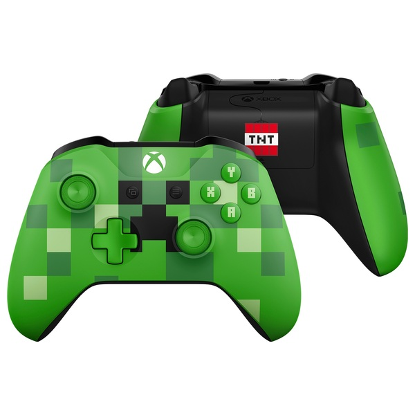 Xbox One Wireless Minecraft Green Controller - Xbox One Accessories Ireland
