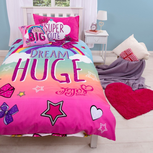 Jojo Siwa Single Panel Duvet Jo Jo Siwa Uk