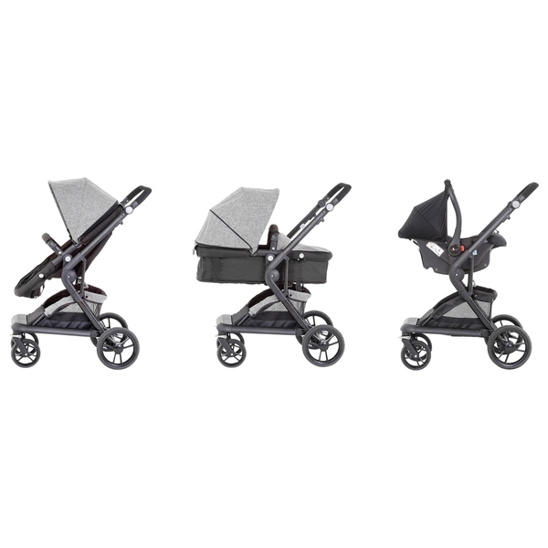 Baby Elegance Mist 2 in 1 Travel System - Grey