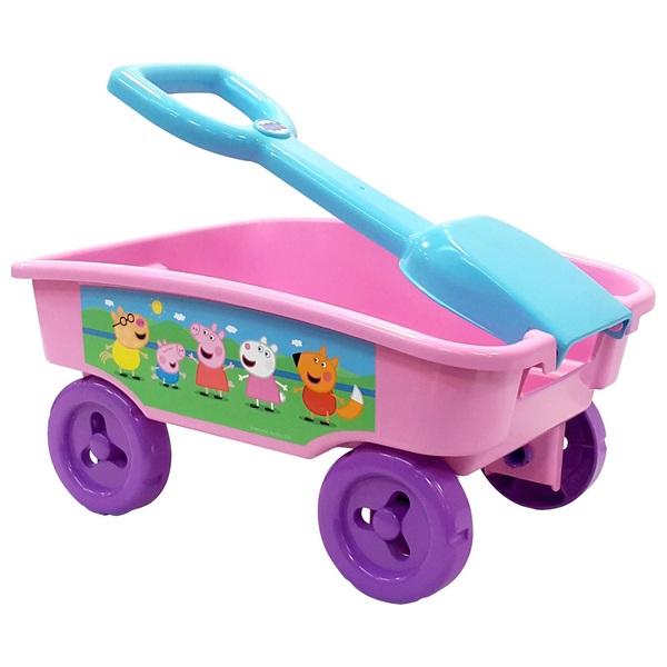 Peppa Pig Pull Along Wagon