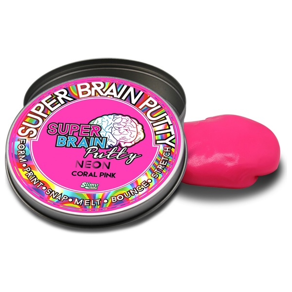 Super Brain Putty Neon Series 5 Assorted Colours