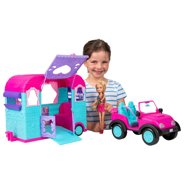 Sparkle Girlz Jeep with Caravan Assortment
