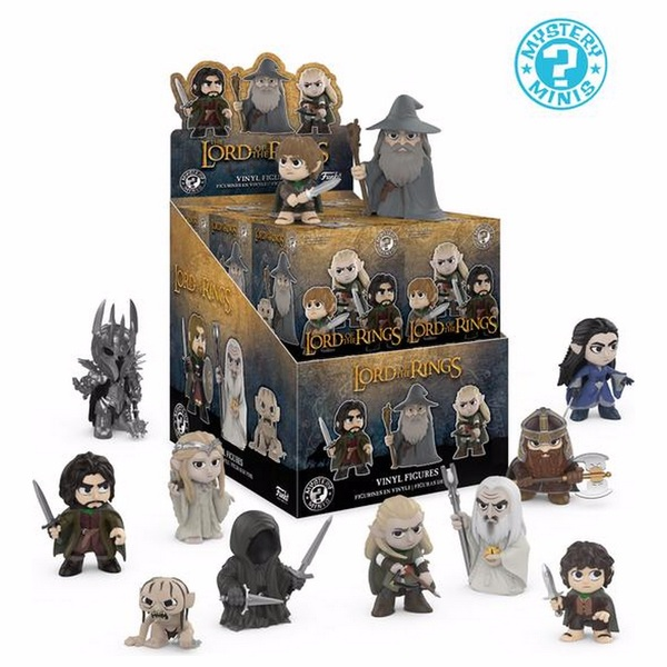 Mystery Minis: Lord of the Rings - Assortment