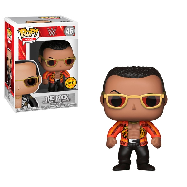 POP! Vinyl: WWE The Rock with Chase - Assortment