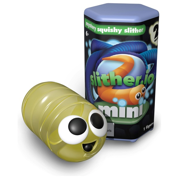 Slither.io Mini Squishies - Other Action Figures & Playsets UK