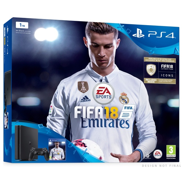 PS4 Pro 1TB FIFA 18 Bundle - gamessouq.com