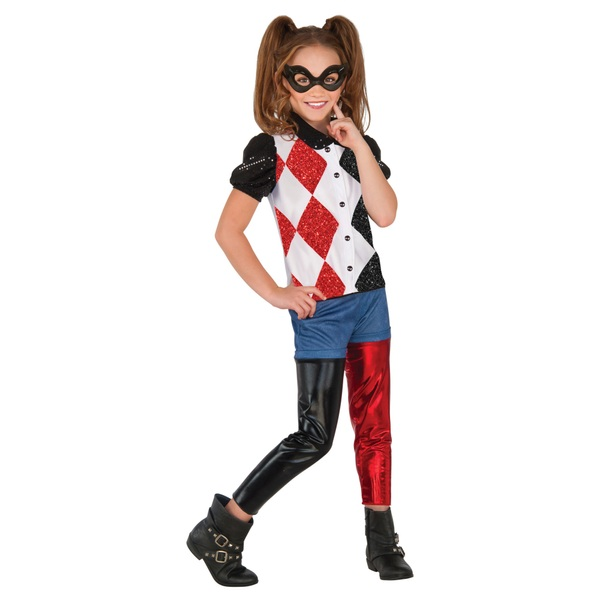 DC Super Hero Girls Harley Quinn Outfit