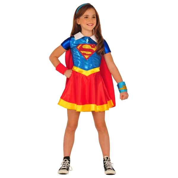 DC Super Hero Girls Supergirl Outfit  sc 1 st  Smyths Toys & DC Super Hero Girls Supergirl Outfit - DC Superhero Girls UK