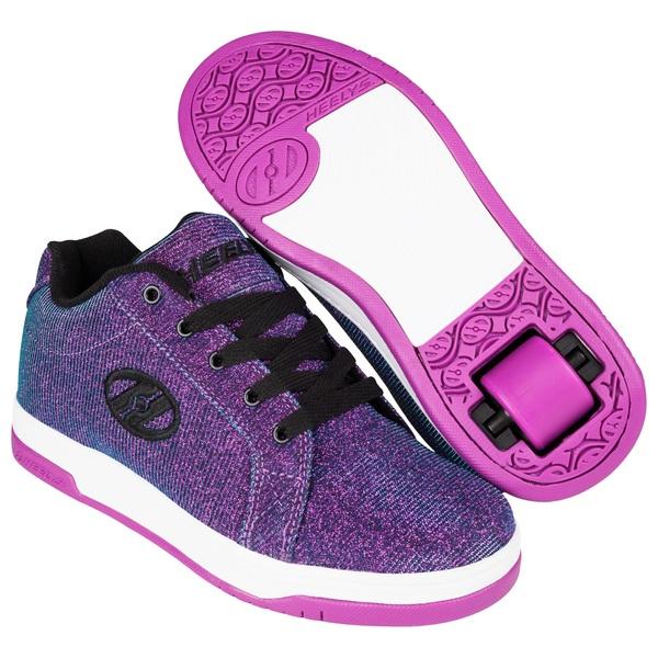 Heelys Split Purple/Aqua UK 2
