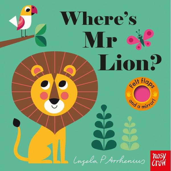 Felt Flaps: Where's Mr Lion? Board Book