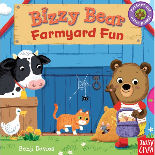 Bizzy Bear: Farmyard Fun Book by Benji Davies