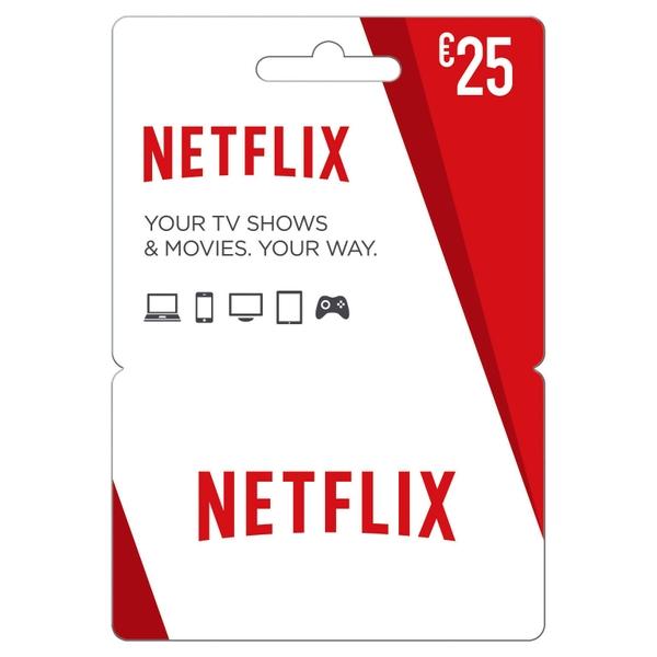 Netflix Gift Card €25