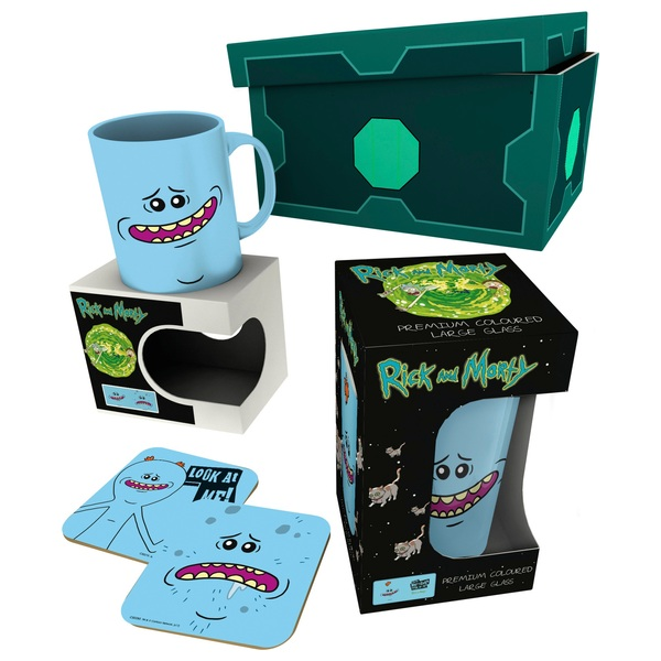 Rick and Morty Meeseeks Gift Box Set