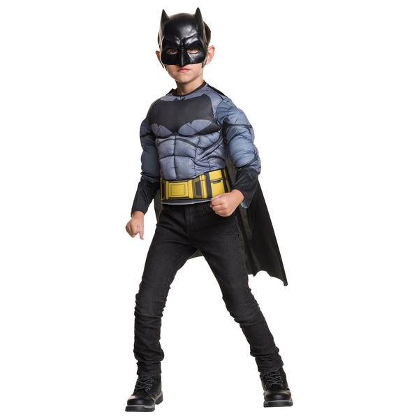 Justice League Batman Muscle Chest Costume
