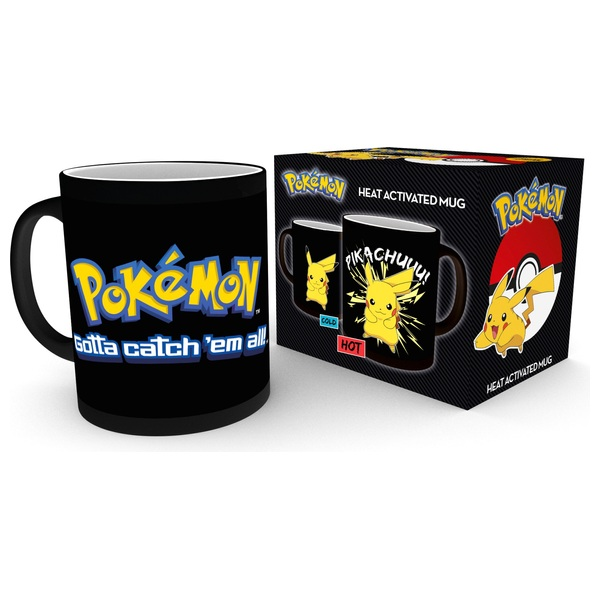 Pokémon Heat Changing Mugs - Pikachu