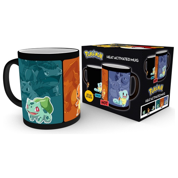 Pokémon Heat Changing Mugs - Evolve