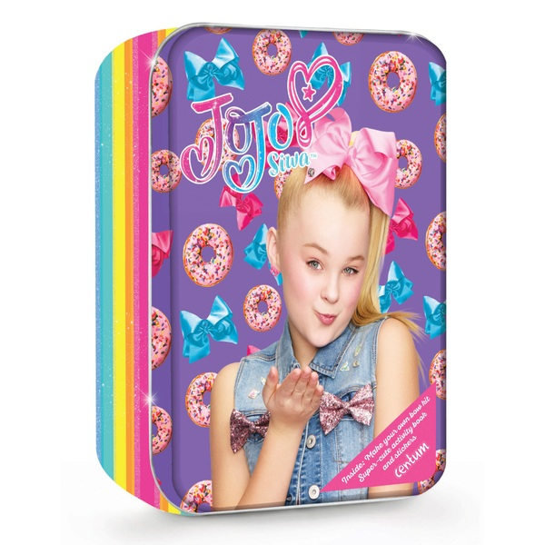JoJo Siwa Bow Kit & Activity Book Tin