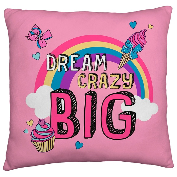 JoJo Siwa 40cm Square Cushion