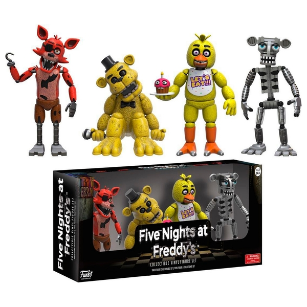 Five Nights at Freddy's 4 Figure Pack