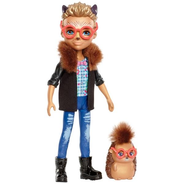 Enchantimals Hixby Hedgehog Doll and Pointer Hedgehog Friend Figure