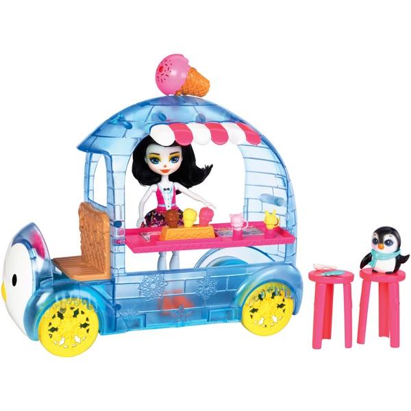 Enchantimals Wheel Frozen Treats Preena Penguin Doll and Playset - Enchantimals UK