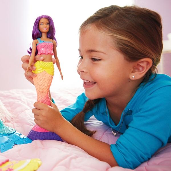 Barbie Dreamtopia Doll – Purple and Blue