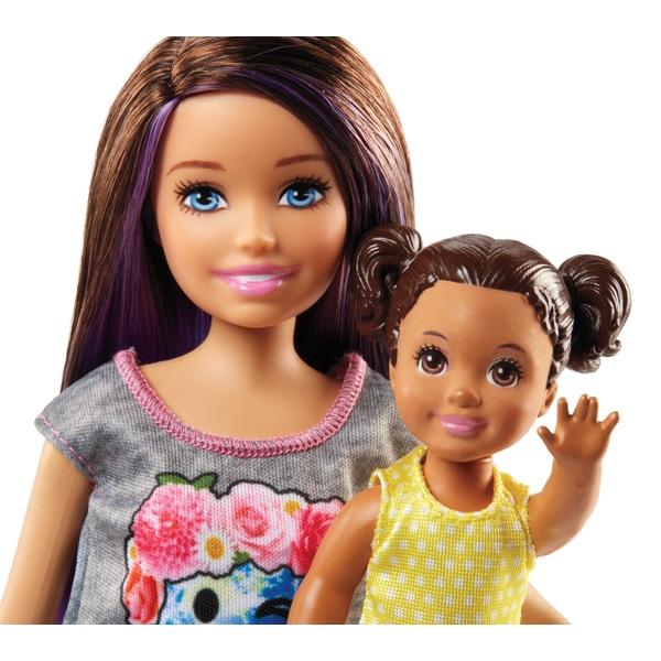 Doll /& Stroller Playset Toys Games Barbie Skipper Babysitters Inc