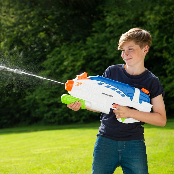 Water Warriors Double Drench Power Pump Water Blaster