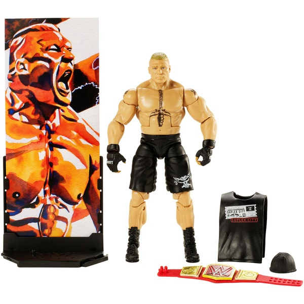 WWE Elite Collection Series 55 Brock Lesnar Figure
