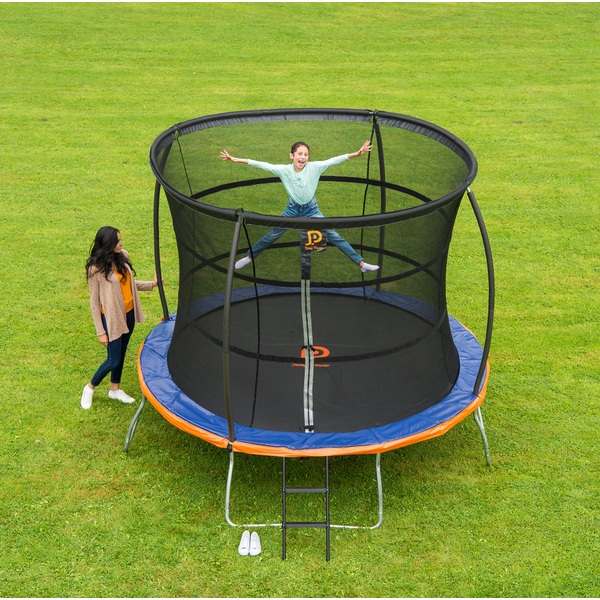 jump power 10ft trampoline and enclosure trampolines uk. Black Bedroom Furniture Sets. Home Design Ideas
