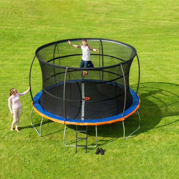 trampoline jumpstar elegant un trampoline spcialement conu pour les enfants de ans scurit. Black Bedroom Furniture Sets. Home Design Ideas