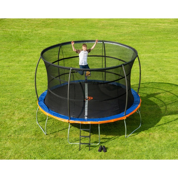 Jump Power 13ft Trampoline And Enclosure