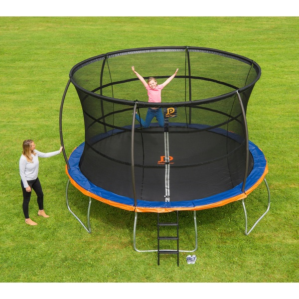 jump power 12ft trampoline and enclosure trampolines uk. Black Bedroom Furniture Sets. Home Design Ideas