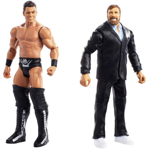 WWE Twin Pack Basic Series 49 Daniel Bryan & The Miz