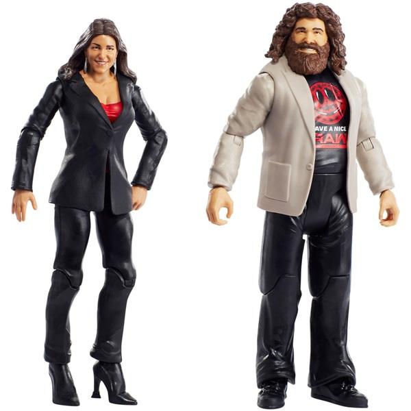 WWE Twin Pack Basic Series 49 Stephanie McMahon & Mick Foley