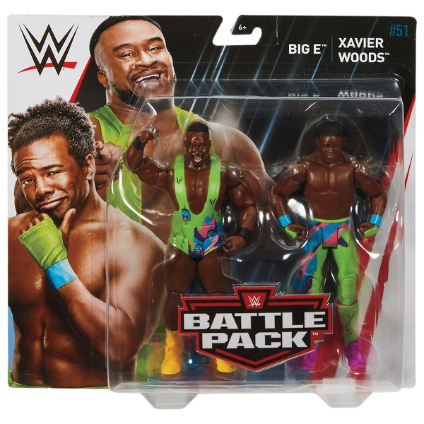 WWE Twin Pack Basic Series 51 Big E and Xavier Woods
