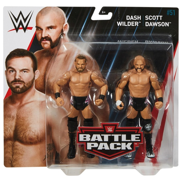 WWE Twin Pack Series 51 Dash Wilder & Scott Dawson