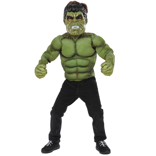 Marvel Hulk Medium Costume Set with Gloves and Mask