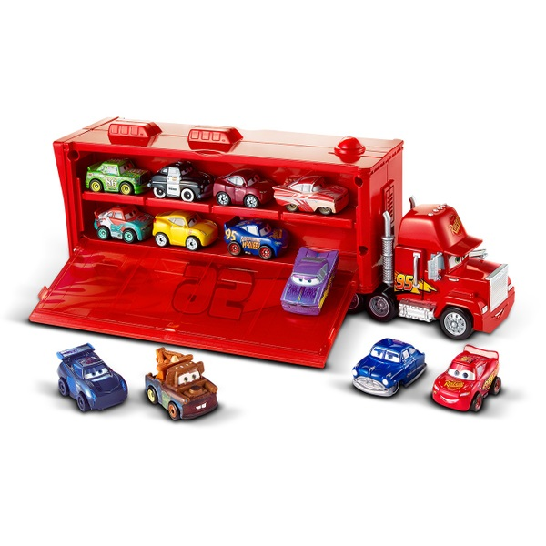 Disney Pixar Cars Mini Racers Mack Transporter Cars Toy