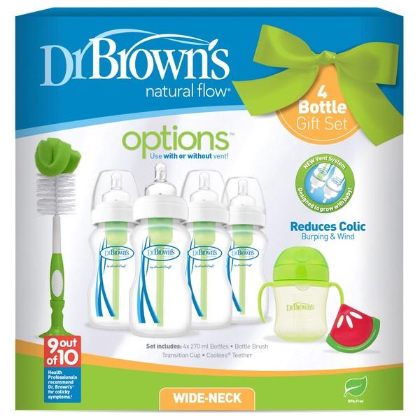 Dr Browns Options 4 Bottle Gift Set